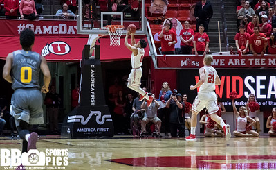 University of Utah vs Arizona State at the Jon M. Huntsman Center on 01-07-2018. The Utes lose to the Sun Devils 77-80   ©2017 Bryan Byerly