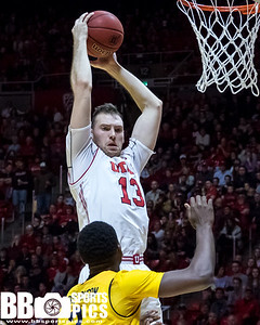 University of Utah vs California at the Jon M. Huntsman Center on 02-10-2018. The Utes defeat the Golden Bears 77-43   ©2018 Bryan Byerly