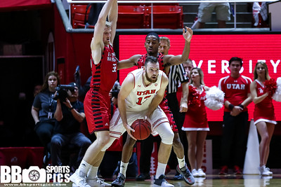 University of Utah vs Eastern Washington at the Jon M. Huntsman Center on 11-24-2017. The Utes defeat the Eagles 85-69.  #GoUtes #GamedayU  ©2017 Bryan Byerly