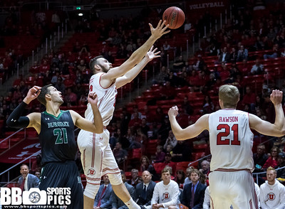 University of Utah vs Hawai'i at the Jon M. Huntsman Center on 12-02-2017. The Utes defeat the Rainbow Warriors 80-60.  #GoUtes #GamedayU  ©2017 Bryan Byerly