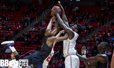 University of Utah vs Prairie View A&M at the Jon M. Huntsman Center on 11-10-2017. The Utes defeat the Panthers 83-62.  #GoUtes #GamedayU  ©2017 Bryan Byerly