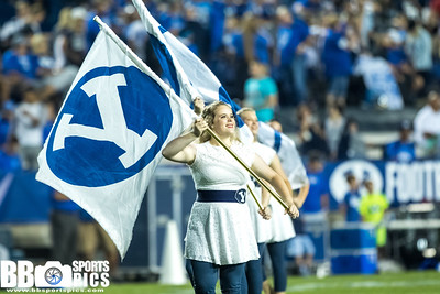 Brigham Young University vs University of Utah at LaVell Edwards Stadium in Provo, Utah 09-09-2017. The Cougars lose tothe UTes 13-19. #BYUFOOTBALL  #UTAHvsBYU  #GoCougs  #GOUTES ©2017 Bryan Byerly