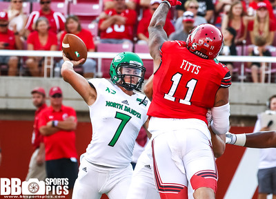 University of Utah Football ve North Dakota at Rice Eccless Stadium in Salt Lake City, Utah on 08-31-2017. The Utes defeat the fighting Hawks 16 - 37. #goutes  #NDvsUTAH  G2017  Bryan Byerly
