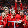 Utah Gymnastics vs UCLA at Jon M. Huntsman Centerr 02-08-2017. The Utes defeat the Bruins 197.875-197.500. #goutes #RedRocks  #Flip4U   ©2017  Bryan Byerly