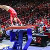 Utah Gymnastics vs UCLA at Jon M. Huntsman Centerr 02-08-2017. The Utes defeat the Bruins 197.875-197.500. #goutes #RedRocks  #Flip4U   ©2017  Bryan Byerly