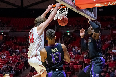 University of Utah vs Washington in Salt Lake City at Jon M. Huntsman Center. 01-10-2019. The Utes lose to the Huskies 53-69. ©2019 Bryan Byerly