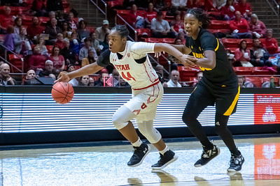 University of Utah vs Arizona State in Salt Lake City at Jon M. Huntsman Center. 01-04-2019. The Utes lose to the Sun Devils 63-65. ©2019 Bryan Byerly