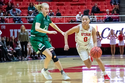 University of Utah vs Utah Valley University in Salt Lake City at Jon M. Huntsman Center. 12-01-2018. The Utes defeat the Wolverines 85-47. ©2018 Bryan Byerly