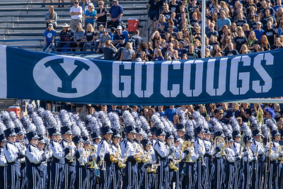 BYU vs McNeese State at LaVell Edwards Stadium in Provo, UT 09-22-2018. The Cougs defeat the Cowboys 3 - 30  ©2018 Bryan Byerly