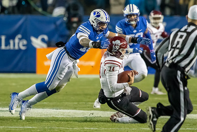 BYU vs New Mexico State at LaVell Edwards Stadium in Provo, UT 11-17-2018. The Cougs defeat the Aggies 45-10  ©2018 Bryan Byerly