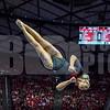University of Utah Gymnastics vs Arizona State at the Jon M. Huntsman Center on 02-09-2018. The Red Rocks defeat the Sun Devils 197.075 - 195.400. #goutes  #Pac12Gym  #RedRocks  #Flip4U   ©2018  Bryan Byerly