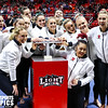 University of Utah Gymnastics vs Georgia at the Jon M. Huntsman Center on 03-16-2018. The Red Rocks defeat the Bulldogs 198.150 - 196.350. #goutes  #Pac12Gym  #RedRocks  #Flip4U   ©2018  Bryan Byerly
