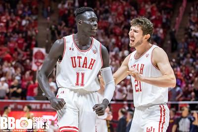 Salt Lake City, UT - Friday November 15, 2019: College Mens Basketball. Minnesota vs University of Utah at Jon M. Huntsman Center.  ©2019 Bryan Byerly