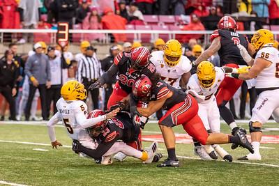 Salt Lake City, UT - Saturday October 19, 2019: PAC-12 College Football. University of Utah vs Arizona State at Rice-Eccles Stadium. ©2019 Bryan Byerly