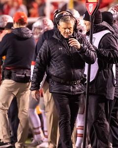 Salt Lake City, Utah - Saturday November 30, 2019: College Football. Colorado vs University of Utah at Rice-Eccles Stadium. ©2019 Bryan Byerly