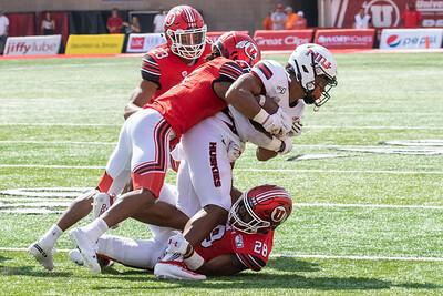 Sandy, UT - Saturday September 07, 2019: College Football. University of Utah vs Northern Illinois. ©2019 Bryan Byerly