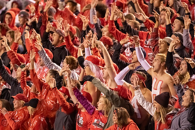 Salt Lake City, UT - Saturday September 28, 2019: College Football. University of Utah vs Washington State. ©2019 Bryan Byerly