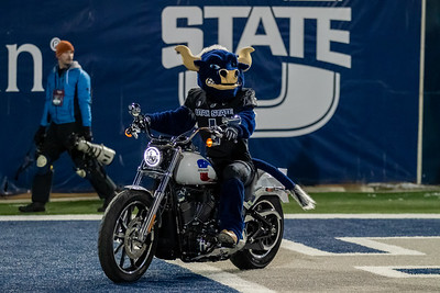 Logan, Utah - Saturday November 02, 2019: College Football. BYU vs Utah State at Maverik Stadium. ©2019 Bryan Byerly