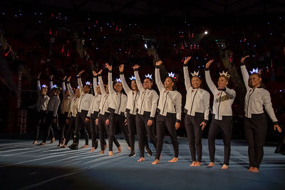 Utah Gymnastics versus California in Salt Lake CIty at the Jon M. Huntsman Center. 02-09-2019. The Red Rocks defeat the Golden Bears 197.150 - 196.225. ©2019 Bryan Byerly