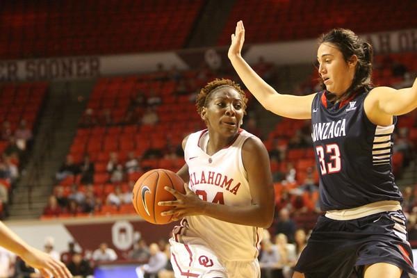 OU v Gonzaga basketball women 4