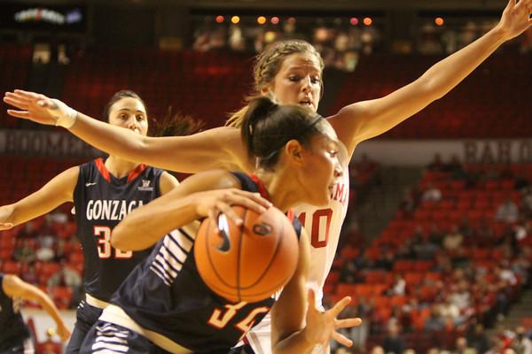 OU v Gonzaga basketball women 1