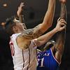 OU Mens basketball vs Kansas