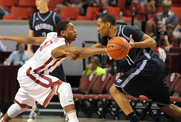OU V Washburn Mens BB