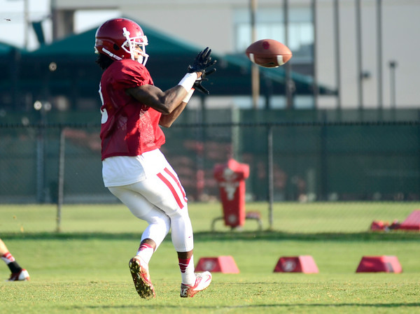 OU football hits the practice field