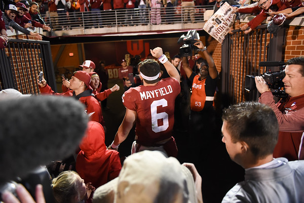 OU v West Virginia Baker Mayfield