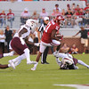 September 10 2016 OU vs ULM Football<br /> <br />  Oklahoma Sooners wide receiver Dede Westbrook (11)    in the first half of the game between the Sooners and University of Louisiana Monroe at Owen Field in Norman OK<br /> <br /> <br /> June Frantz Hunt/Transcript