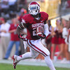 OU runiing back Damien Williams (26) runs with the ball during the Sooners' game against Kansas Saturday at Owen Field.<br /> Kyle Phillips/The Transcript