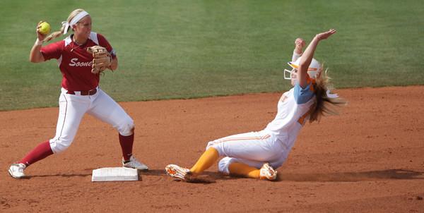 OU v Tennessee softball 5