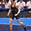 DRAKE HOUDASHELT of Missouri scream in celebration as he is crowned national champion in the 149 pound division at the NCAA division 1 wrestling championships held at Scottrade Center in St. Louis MO.