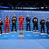 The 125 pound all-americans with NATHAN TOMASELLO sitting in the number 1 spot at the NCAA division 1 wrestling championships held at Scottrade Center in St. Louis MO.
