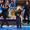 DRAKE HOUDASHELT of Missouri jumps into his coaches arms as he was crowned national champion in the 149 pound division at the NCAA division 1 wrestling championships held at Scottrade Center in St. Louis MO.