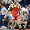 NATHAN TOMASELLO of Ohio State during the NCAA division 1 wrestling championships held at Scottrade Center in St. Louis MO.