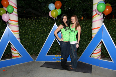 LMU Tri Delta Bid Night 2010