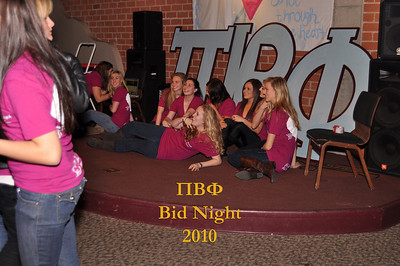 LMU Pi Beta Phi Bid Night 2010