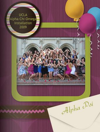UCLA AChiO Bid Day PHOTOBOOK
