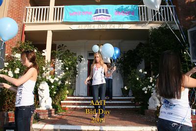 UCLA Alpha Delta Pi Bid Day Fall 2009