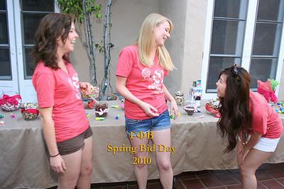 UCLA Gamma Phi Beta Bid Day Spring 2010
