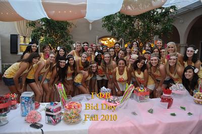 UCLA Gamma Phi Bid Day 2010