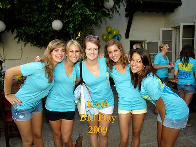 UCLA Kappa Alpha Theta Bid Day 2009