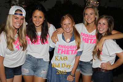 UCLA Theta Bid Day 2012