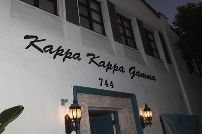 UCLA Kappa Bid Day 2011
