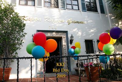 UCLA Kappa Kappa Gamma Bid Day Fall 2009