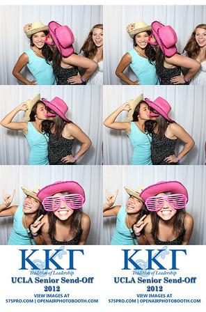 UCLA Kappa Senior Sendoff Strips