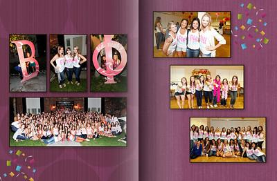 USC GPhiB Bid Night Photobook 2010