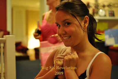 USC Gamma Phi Beta Big Sis Fall 2009