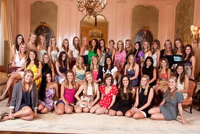 USC Kappa Senior Brunch Groups
